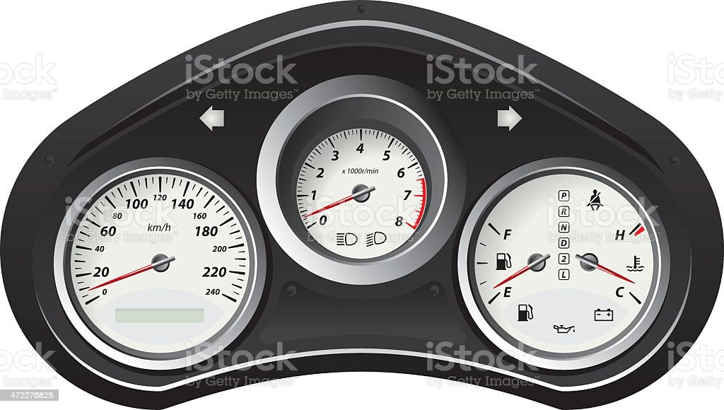Speedometer royalty-free speedometer stock vector art & more images of celsius