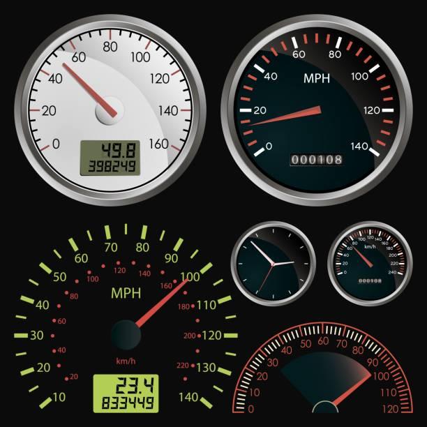 Tachometer  – Vektorgrafik