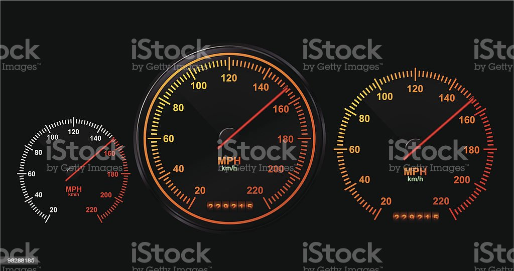 Speedometer royalty-free speedometer stock vector art & more images of careless