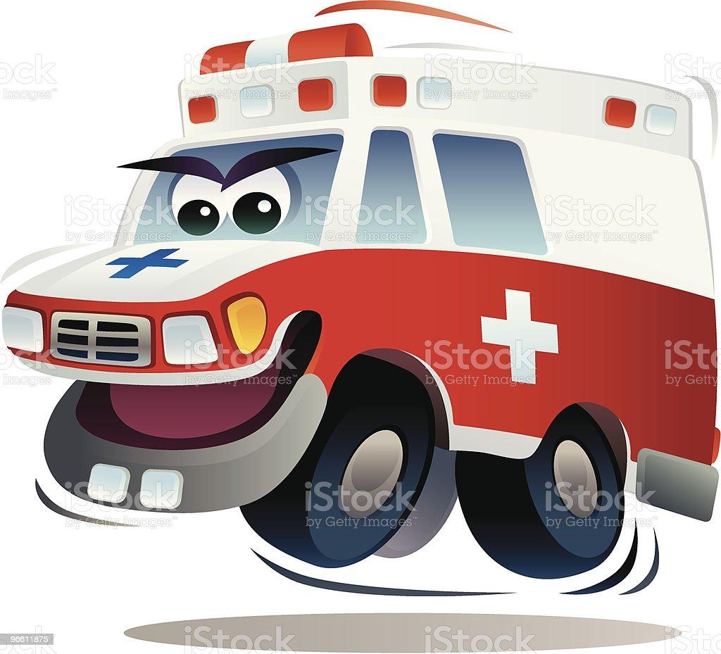 speedy ambulance - Royaltyfri Ambulans vektorgrafik