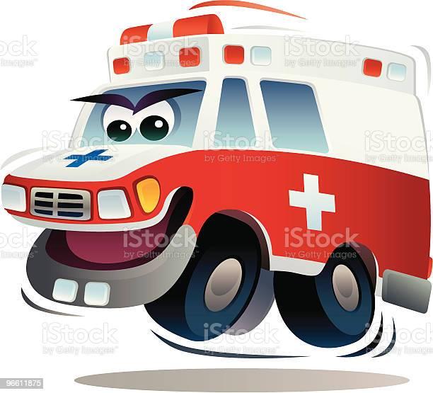 Speedy Ambulance-vektorgrafik och fler bilder på Ambulans