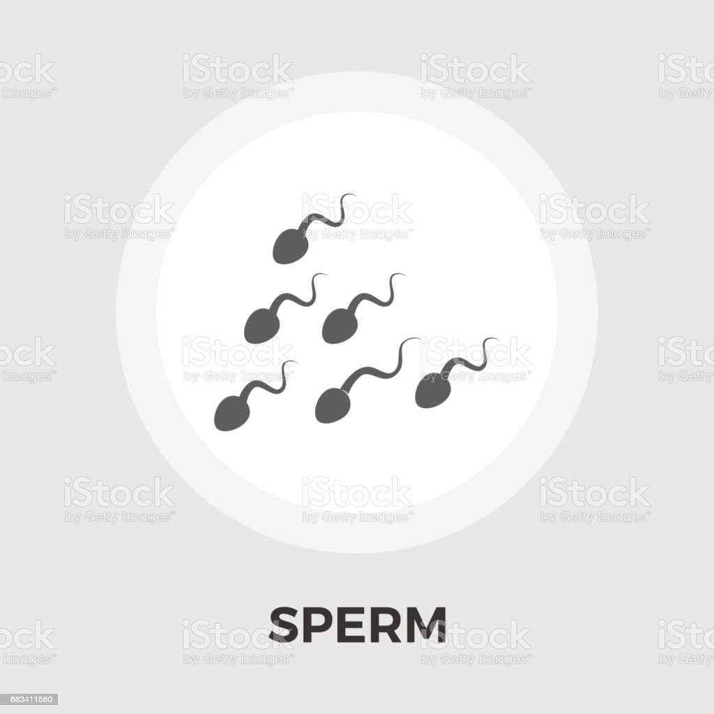 Sperm Vector Flat Icon Stock Vector Art & More Images of Anatomy ...