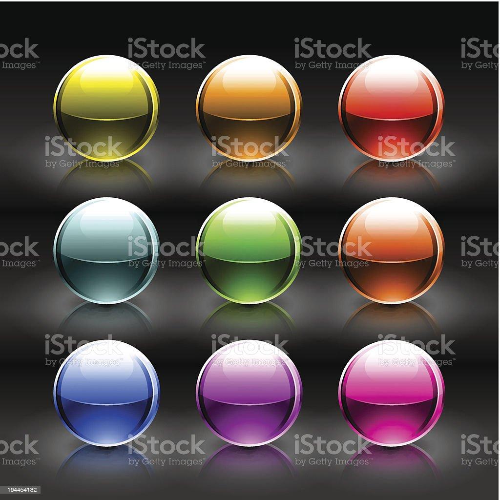 Sphere. 1 credit royalty-free stock vector art