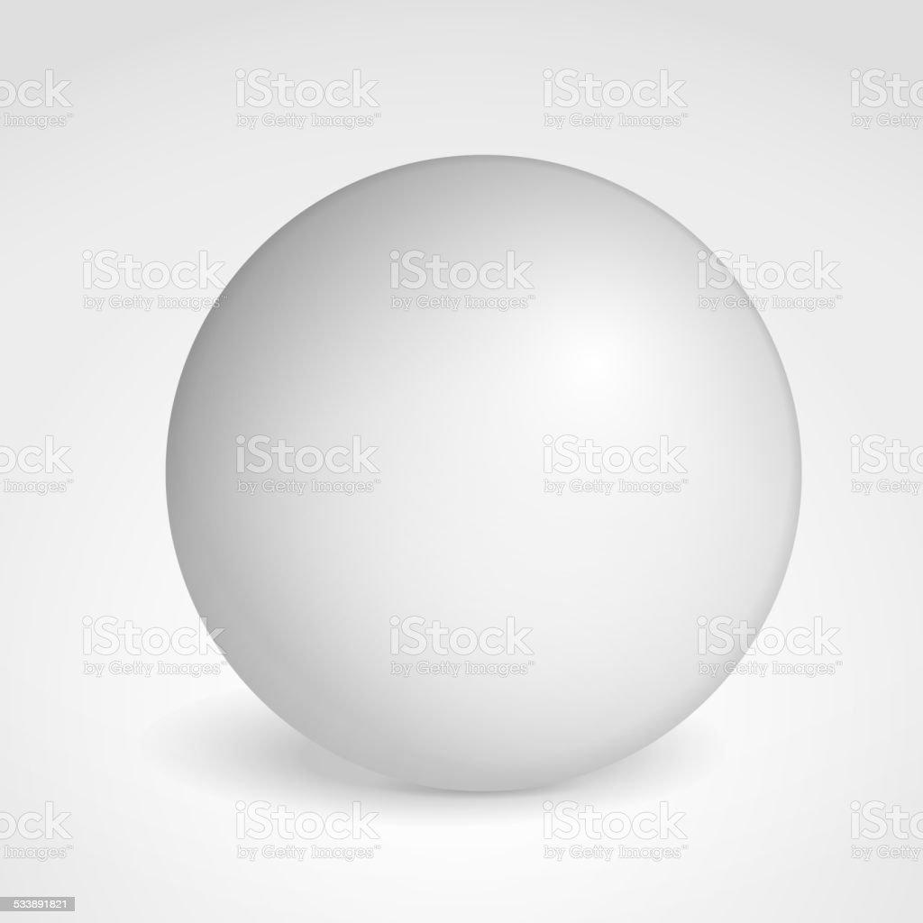 Sphere vector art illustration