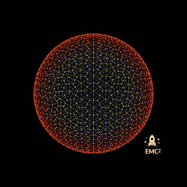 球體有連接線條和點。全球數位連接。全球網格。線框的插圖。3d 技術風格。網路。 - formula 1 幅插畫檔、美工圖案、卡通及圖標
