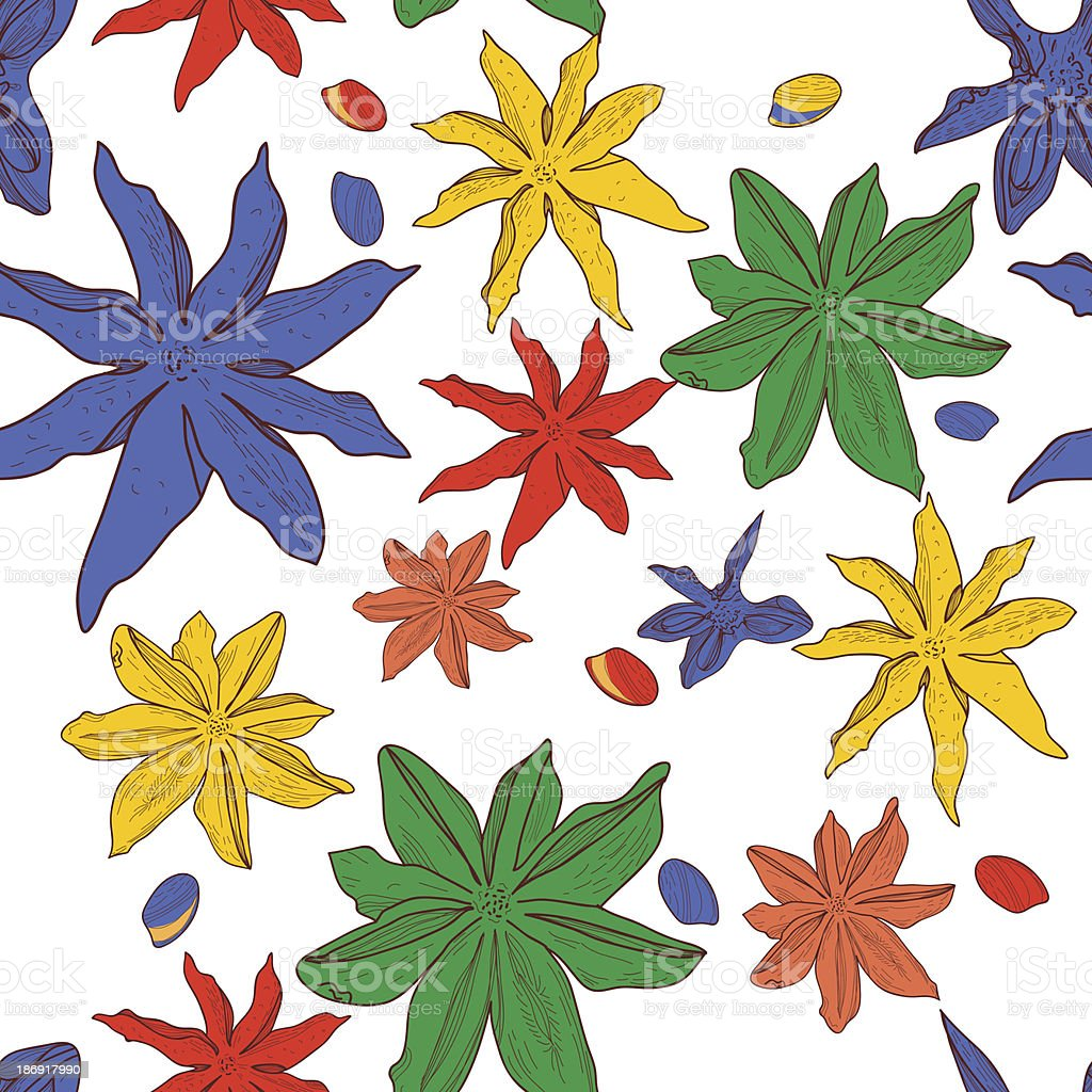 Spice royalty-free stock vector art