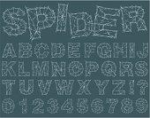 Spider Alphabet
