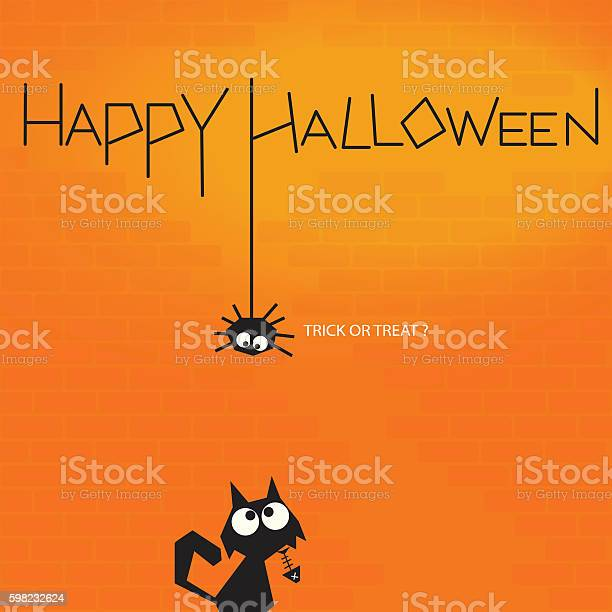 Spider and cat looking at each other halloween background vector id598232624?b=1&k=6&m=598232624&s=612x612&h=pqvozqiprsy7xvnyozl4pedsbkcxccsicwfyitmkjv4=