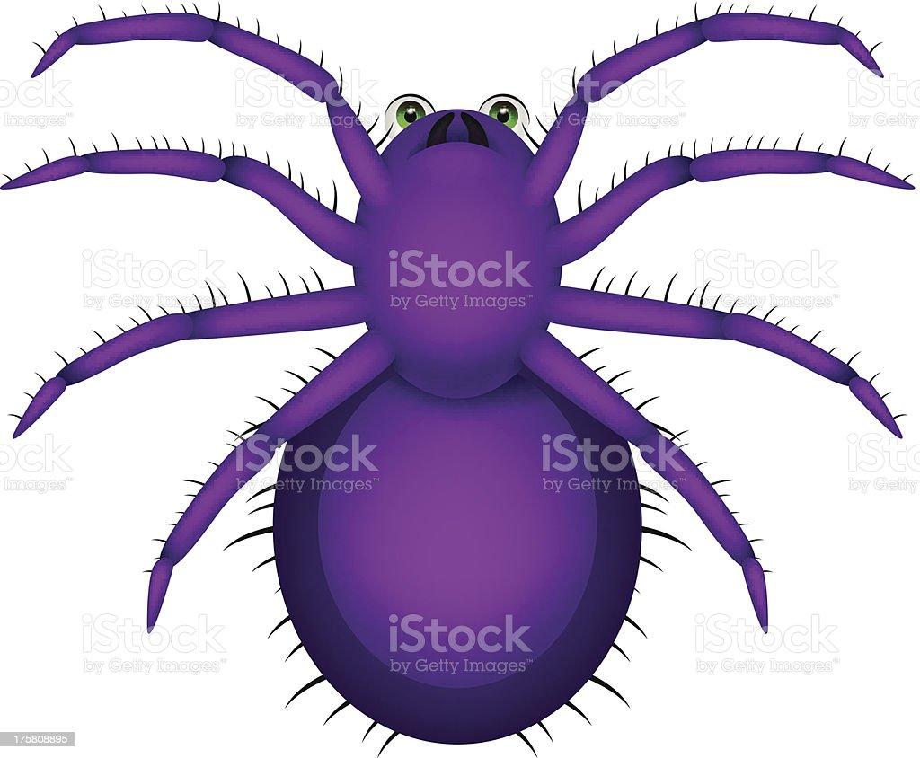 Spider Cartoon royalty-free stock vector art