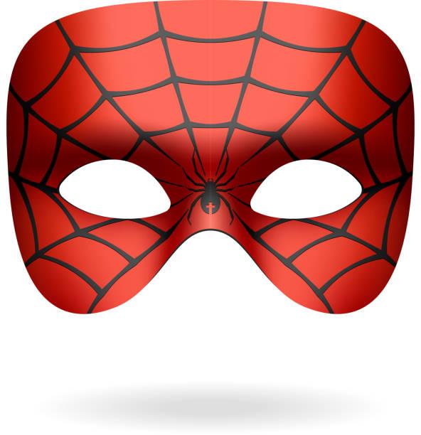 Máscara de araña - ilustración de arte vectorial