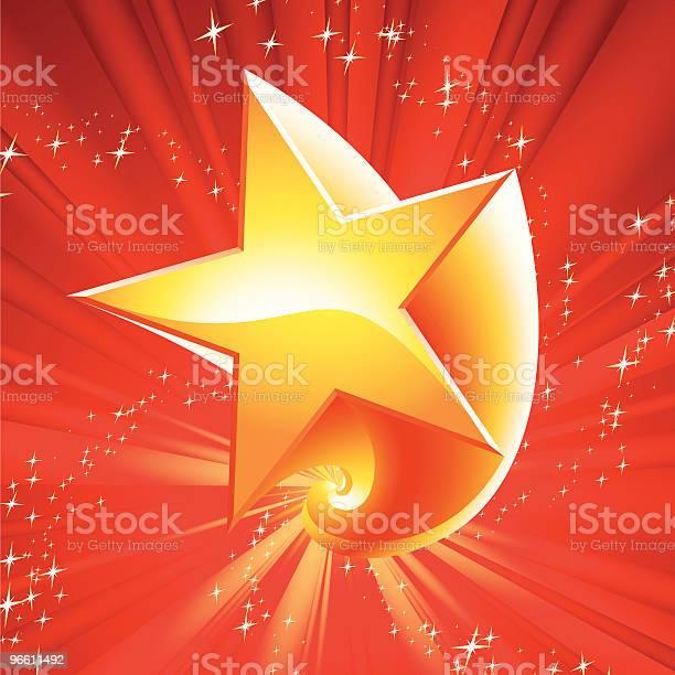 Girar Estrela De - Arte vetorial de stock e mais imagens de Claro