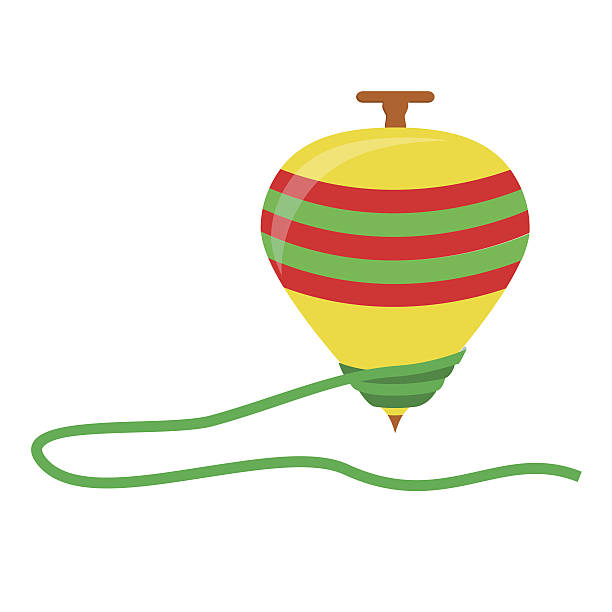 Best Spinning Top Illustrations, Royalty-Free Vector ...
