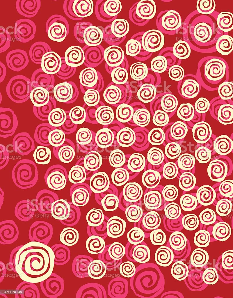Spiral Background royalty-free stock vector art