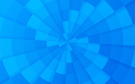 Spiral Blue Abstract Background