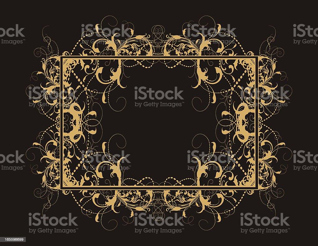 Spiral Frame royalty-free spiral frame stock vector art & more images of antique