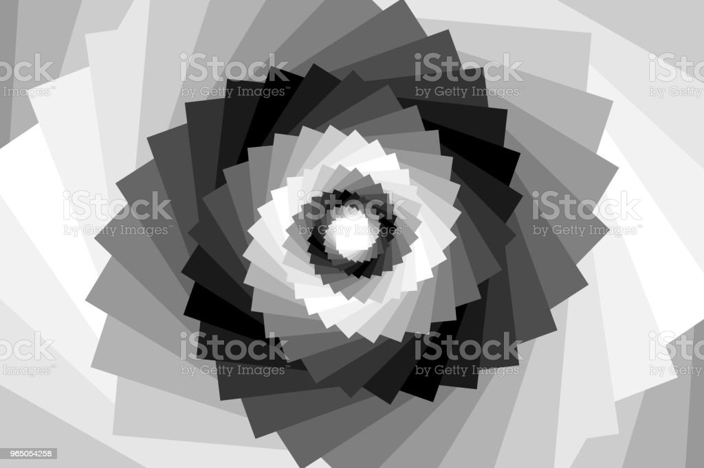 Spiral from squares royalty-free spiral from squares stock illustration - download image now