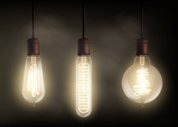 Best Edison Light Bulb Illustrations, Royalty-Free Vector
