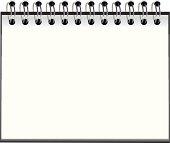 Empty notebook template