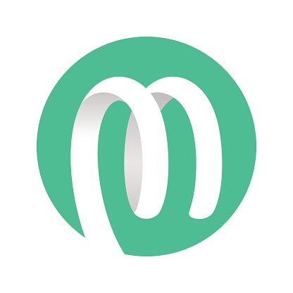 Spiral Ribbon Logo green circle