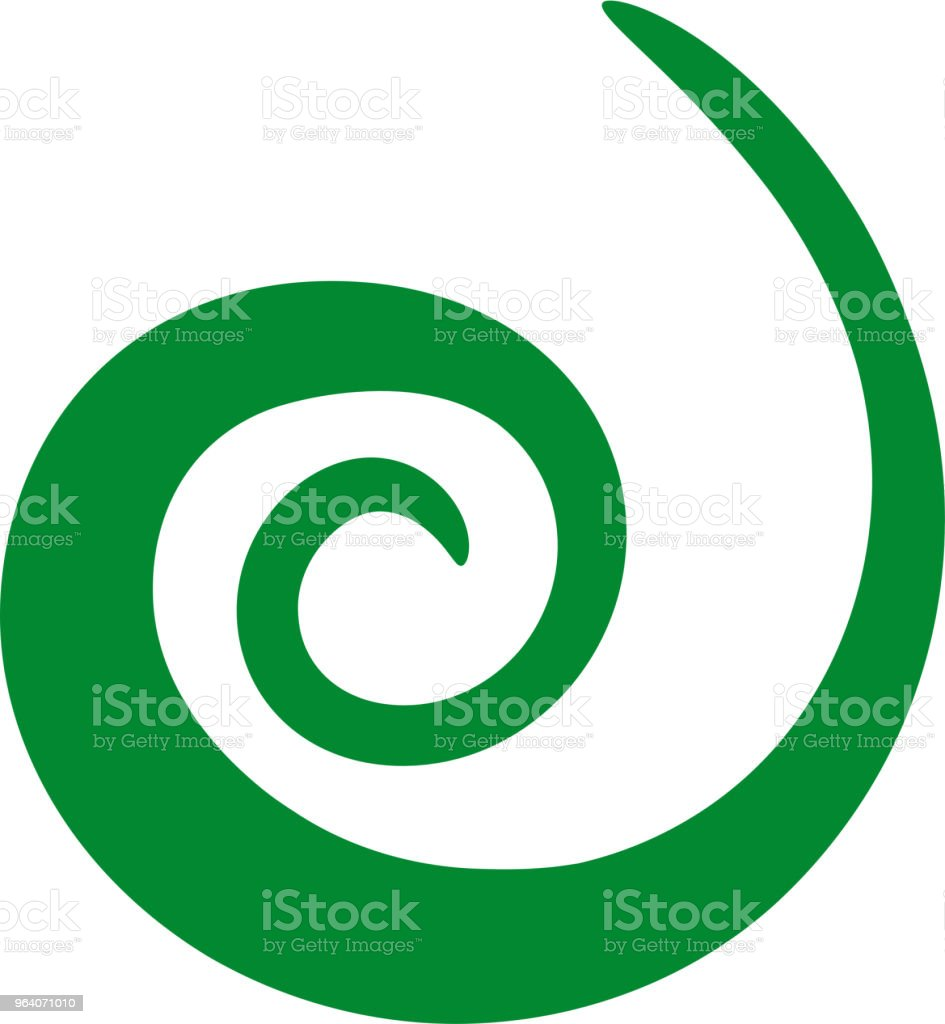 Spiral shape - Royalty-free Abstract stock vector