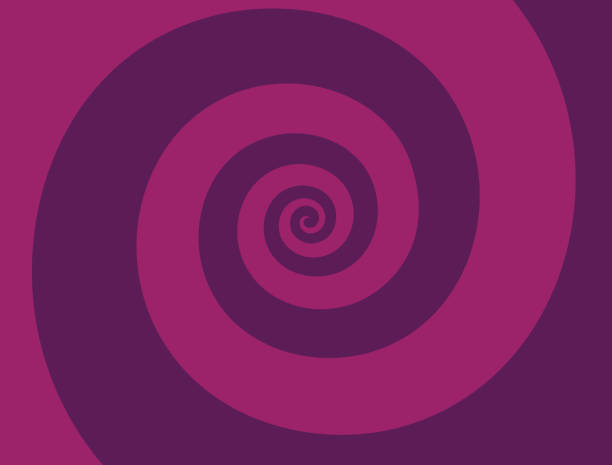 Spiral Zoom Abstract Background Spiral zoom magenta background pattern abstract. spiral stock illustrations
