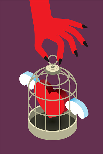 Spirituality Deal with the Devil Cage Trapped Lost Soul Witchcraft