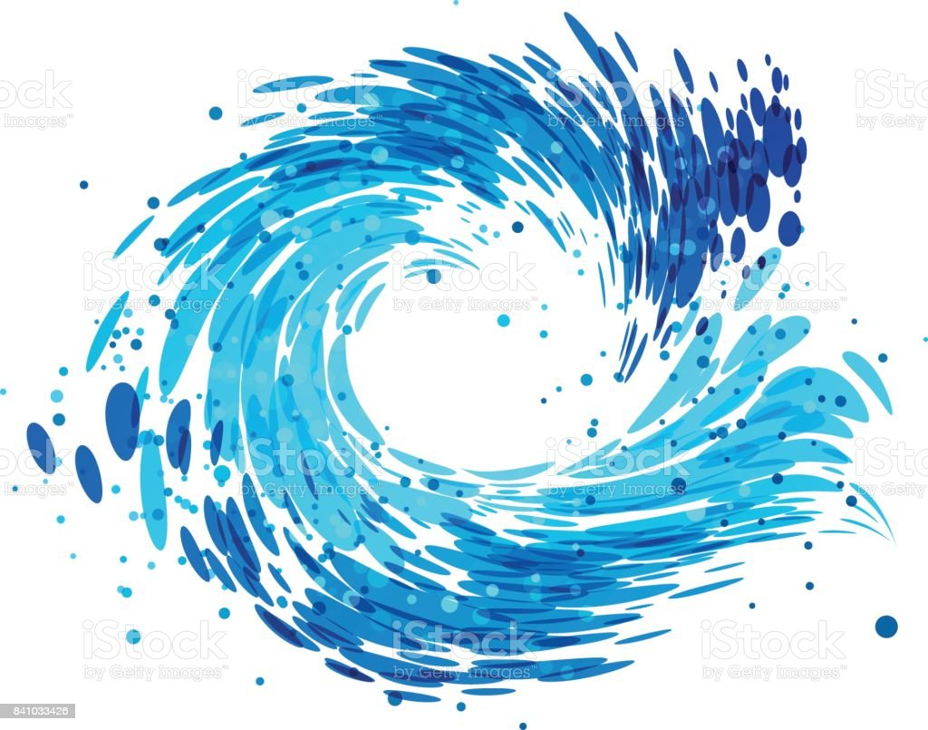 splash round water stock vector art more images of backgrounds