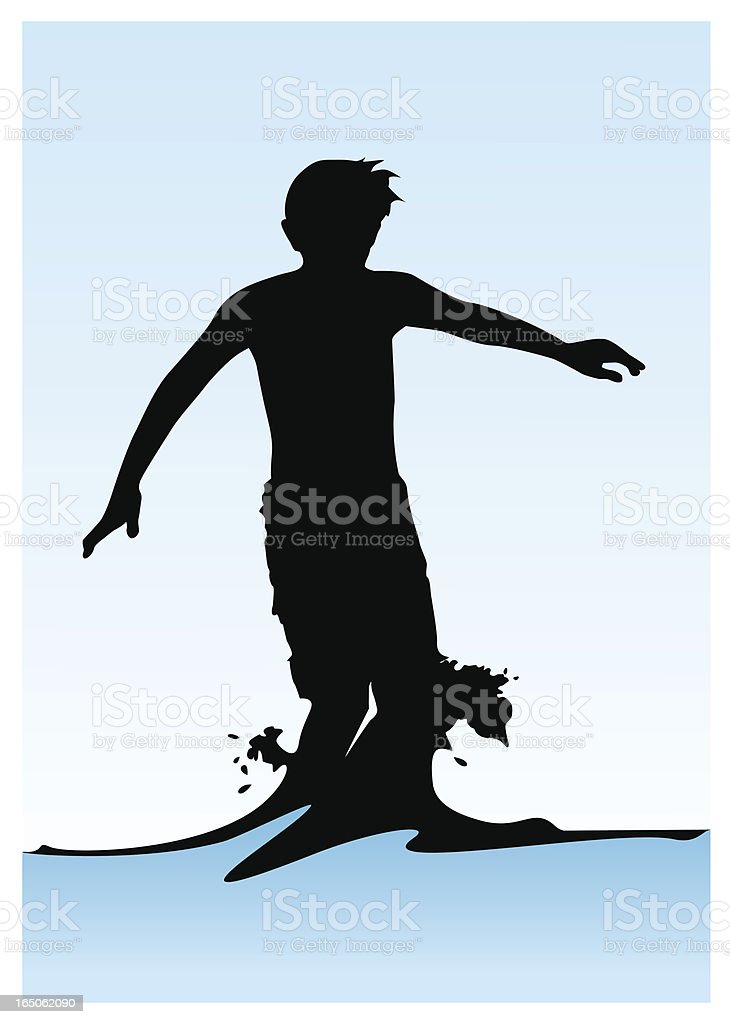 Splash royalty-free stock vector art