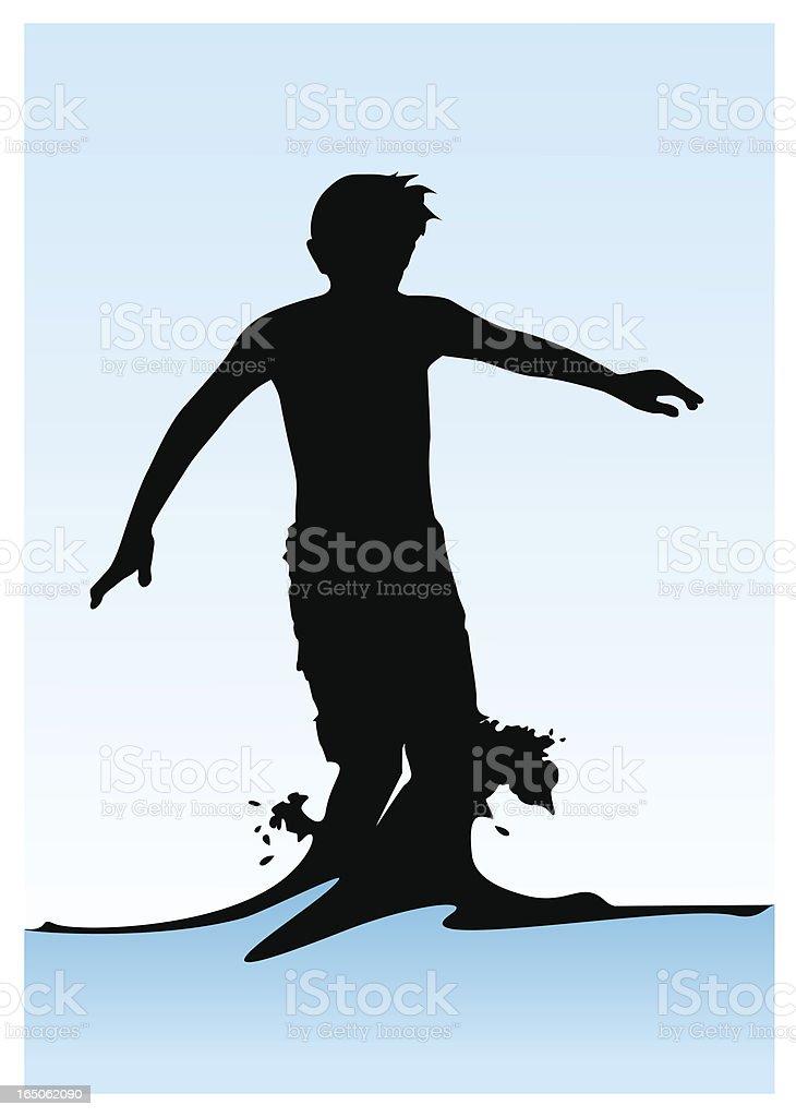 Splash vector art illustration