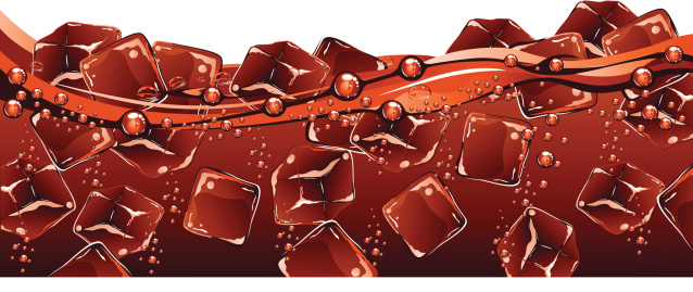 Soda pop stock illustrations