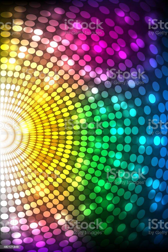 Splashy Abstract Background royalty-free stock vector art
