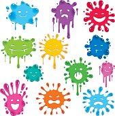 Splatter Faces