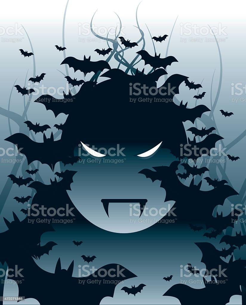 Spooky Eyes royalty-free stock vector art