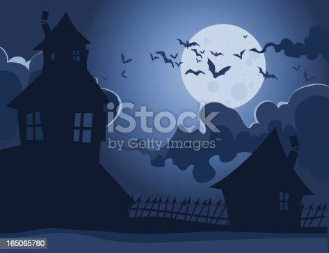 istock Spooky Houses 165065780