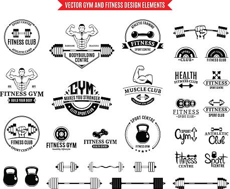 Desporto E Fitness Ginásio De Modelos E Elementos De