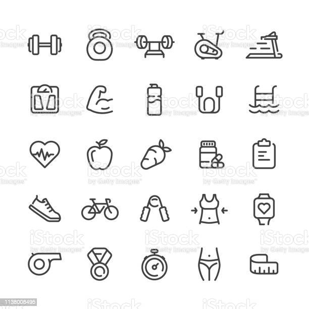 Sport and fitness icons set vector id1138008495?b=1&k=6&m=1138008495&s=612x612&h=jd0iqztu2nj0avx4vb7iqevsmk3glibqsenvdtgtnow=