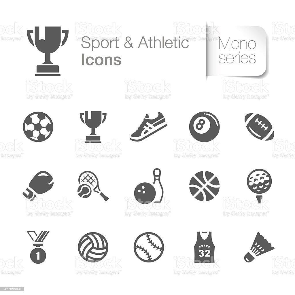 スポーツ&スポーツ関連のアイコン ベクターアートイラスト