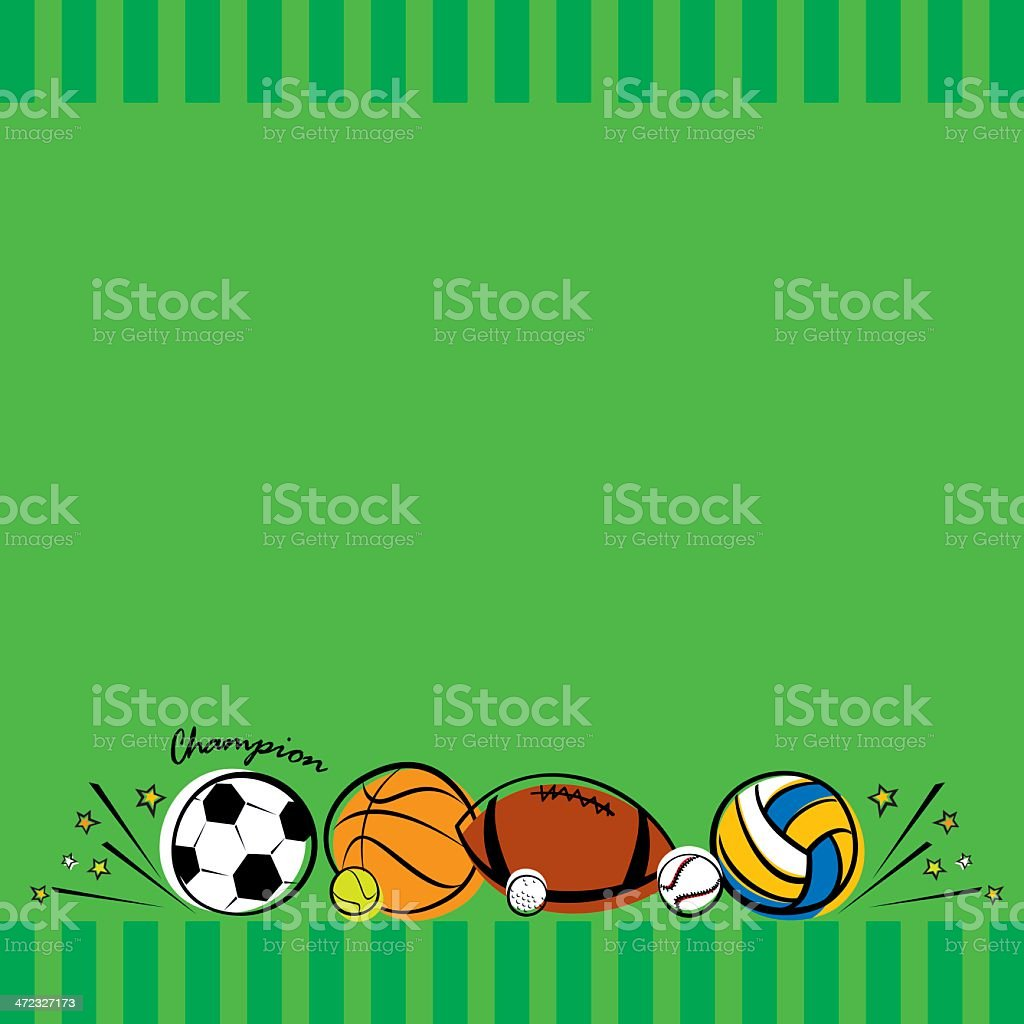 Sport Background royalty-free sport background stock vector art & more images of american football - ball