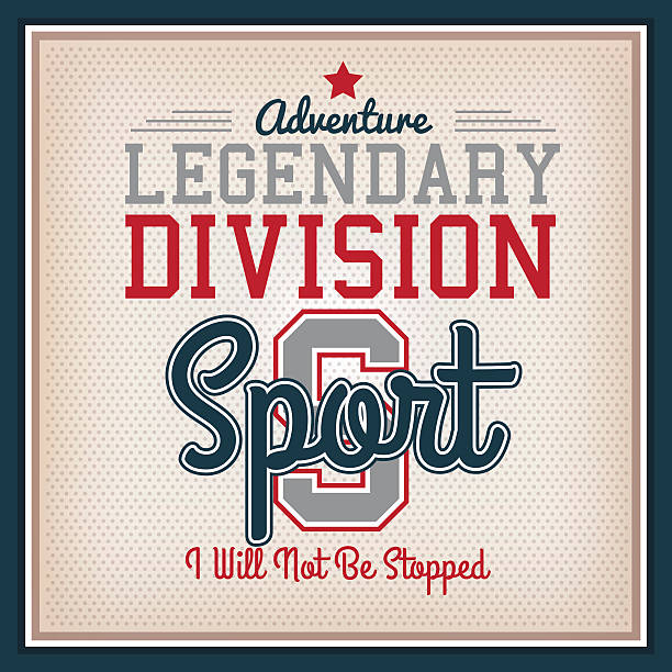 Sport Badge vector art illustration