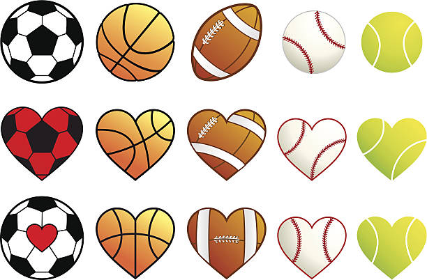 Download Best Love Basketball Illustrations, Royalty-Free Vector ...