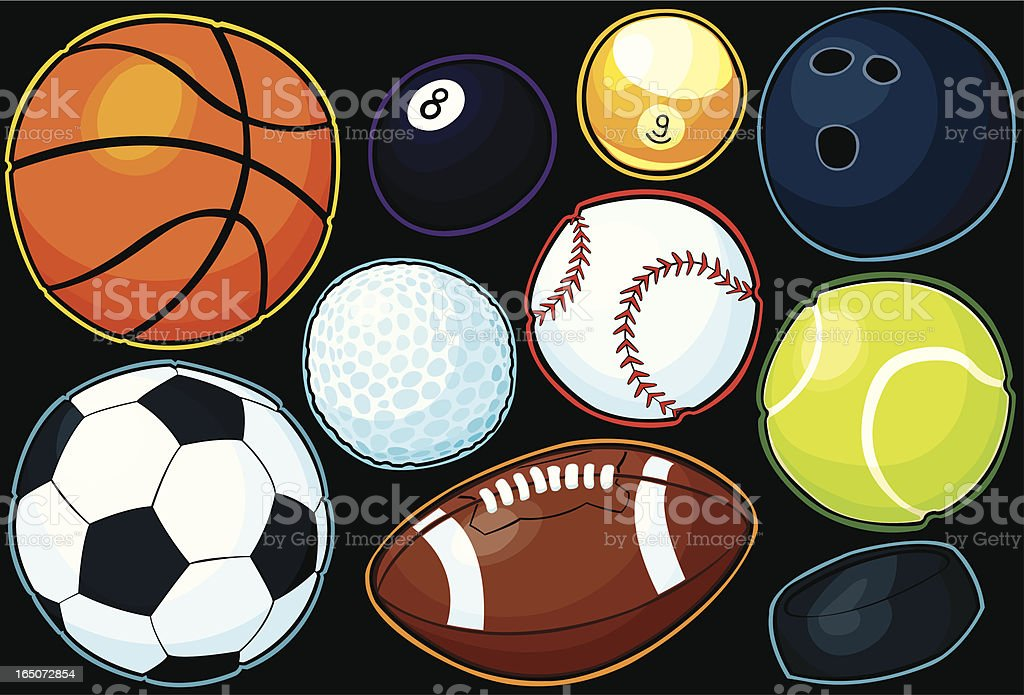 Sport balls royalty-free sport balls stock vector art & more images of ball