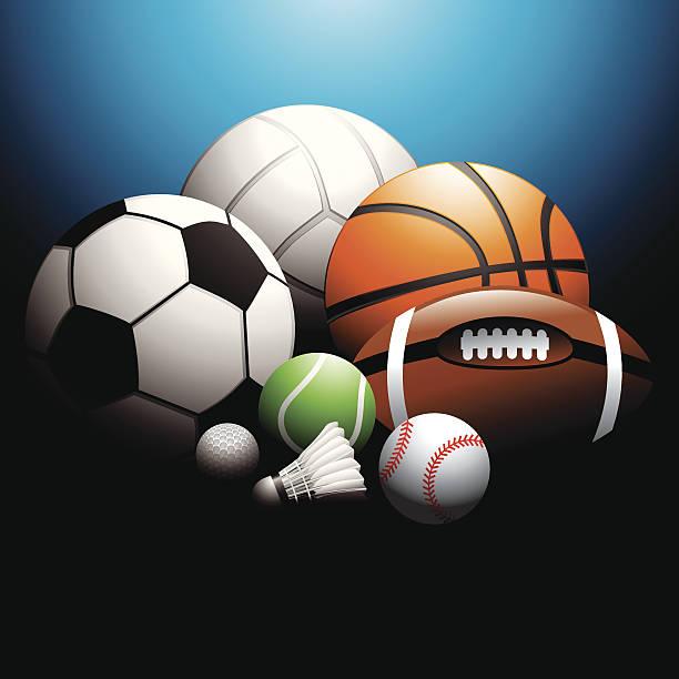 Sport Bälle – Vektorgrafik