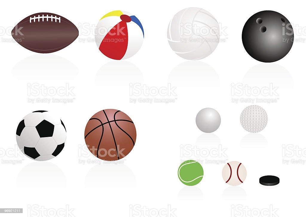 Sport balls royalty-free sport balls stock vector art & more images of ball