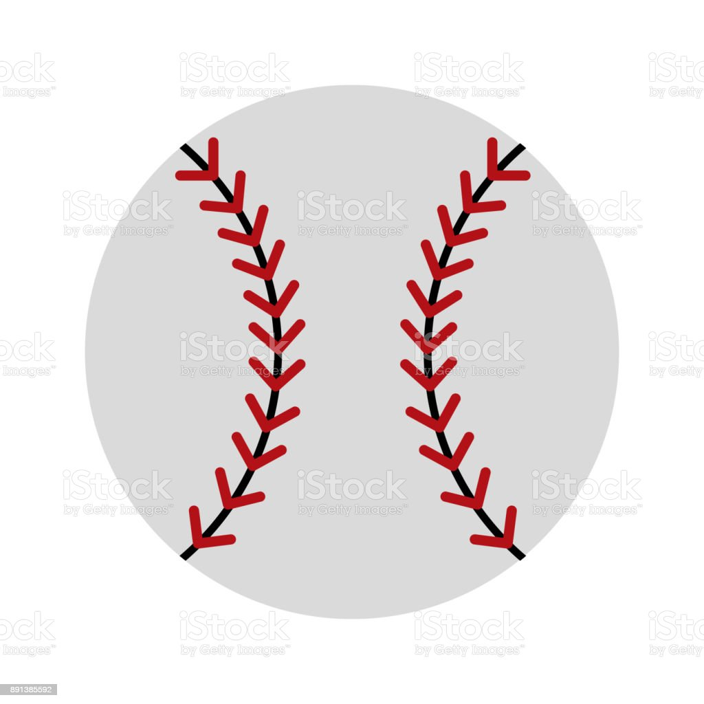 Sport baseball ball icon vector illustration graphic design