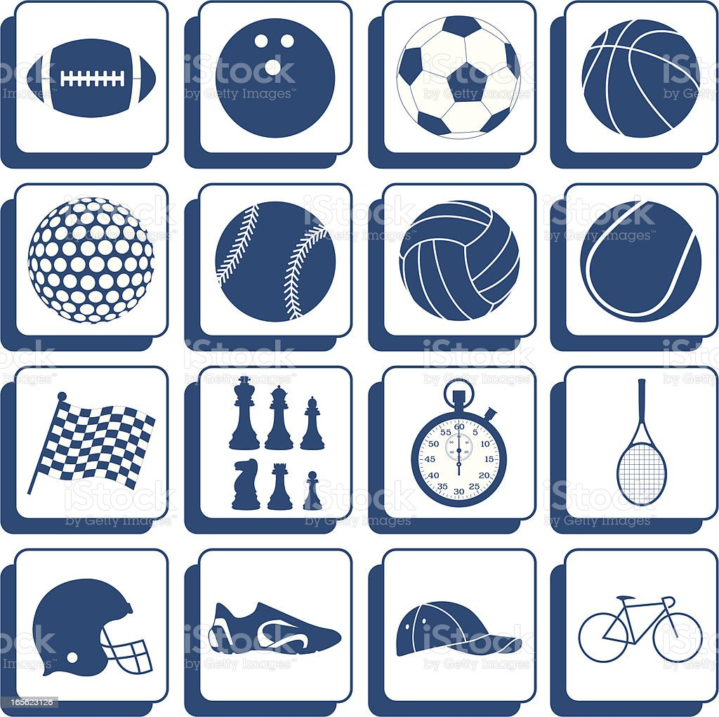 sport buttons royalty-free sport buttons stock vector art & more images of ball