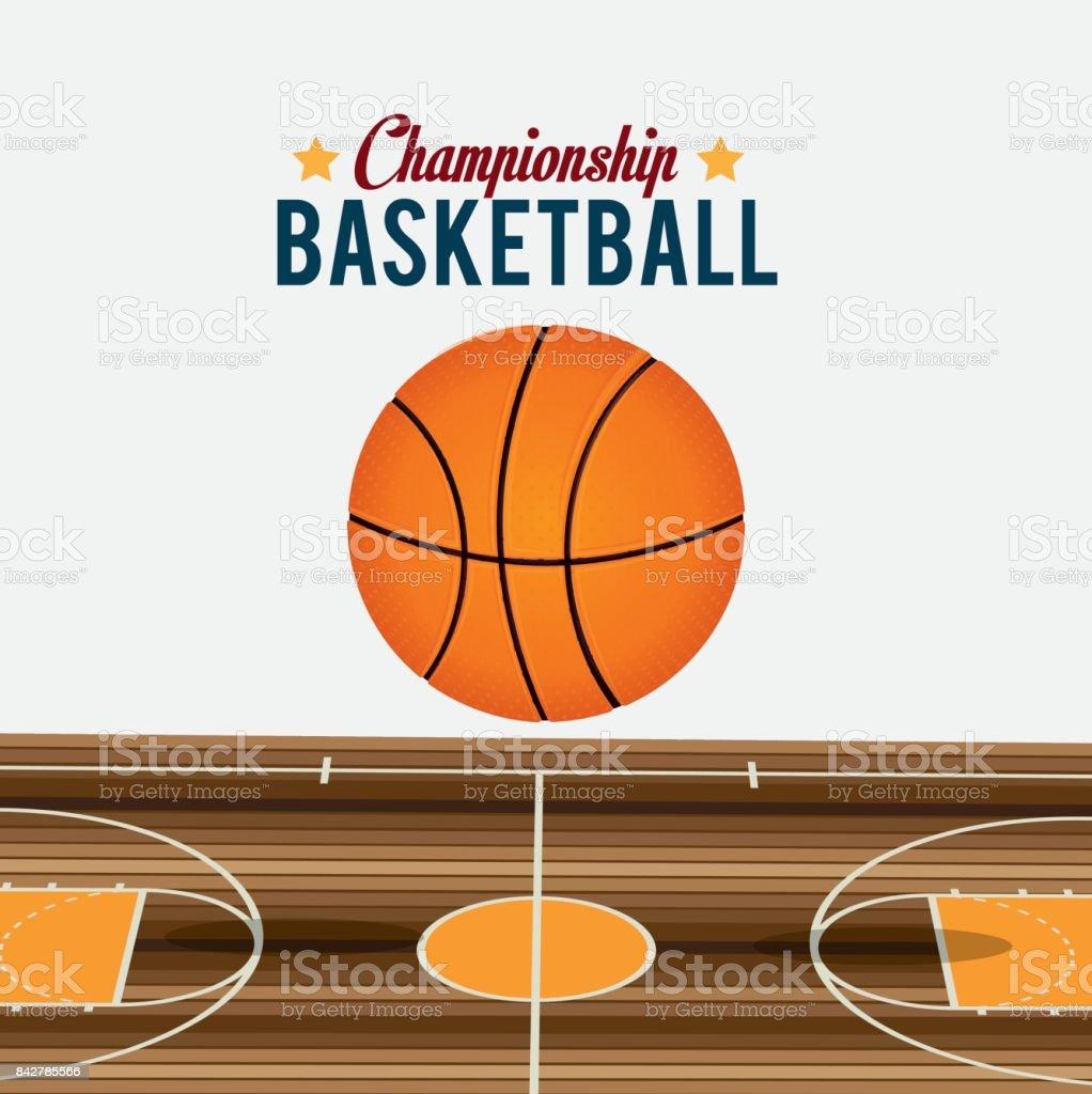 Sport design vector art illustration