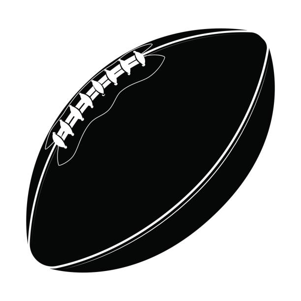 Royalty Free Fall Football Clip Art, Vector Images ...