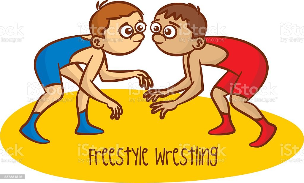 royalty free youth wrestling clip art vector images illustrations rh istockphoto com
