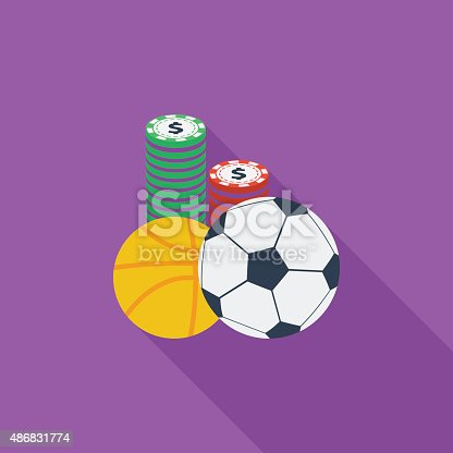 Sport games icon. Flat vector related icon with long shadow for web and mobile applications. It can be used as - logo, pictogram, icon, infographic element. Vector Illustration.