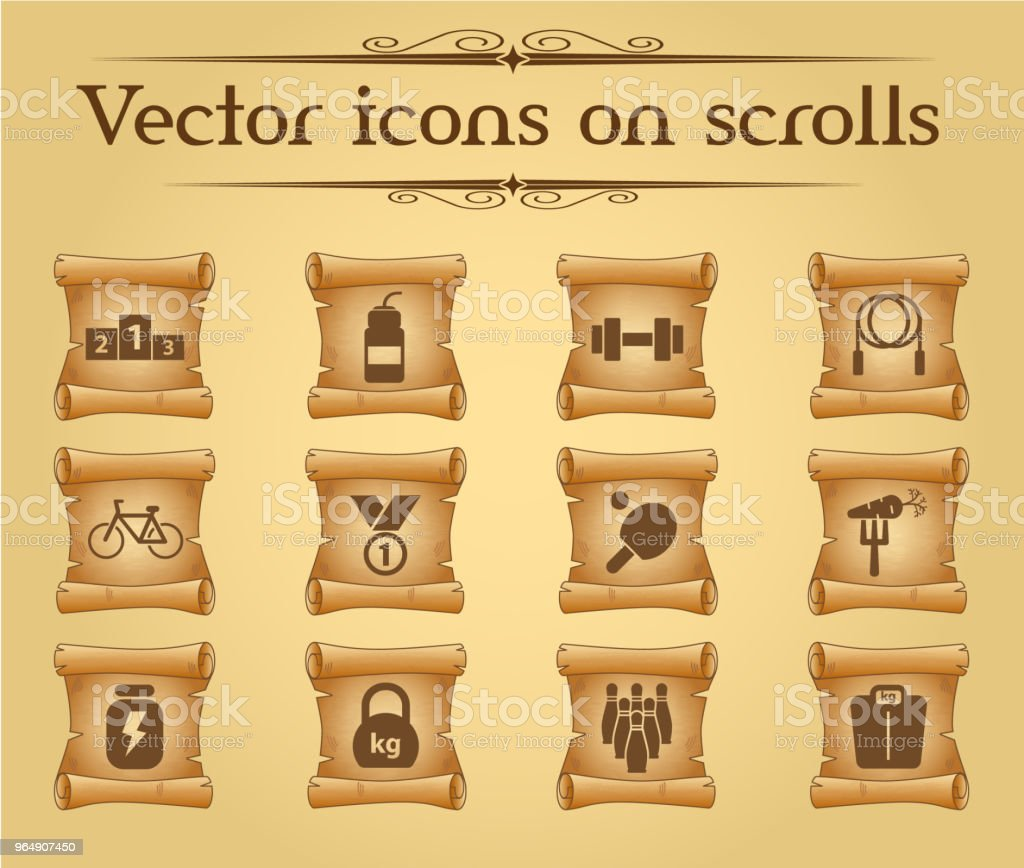 sport icon set royalty-free sport icon set stock vector art & more images of antique